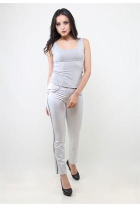 Dodona 7506İ Gri Kadın Pantolon