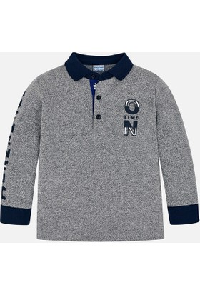 Mayoral Erkek Çocuk Polo Yaka Sweatshirt
