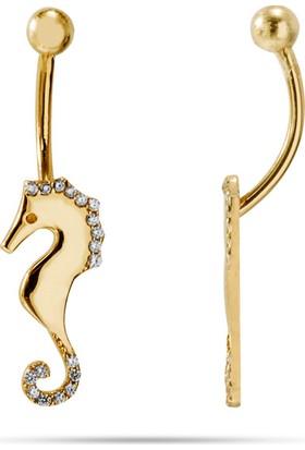 Goldstore 14 Ayar Altın Denizatı Piercing Gpc41070