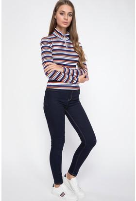 Defacto J0826Az18 Anna Yüksek Bel Super Skinny Fit Denim Pantolon