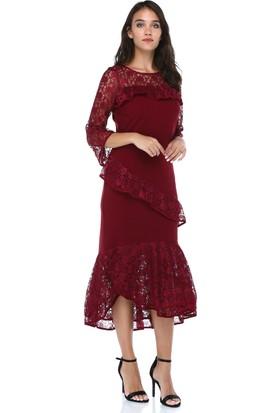 255411da6f07e Dantelli Elbise Modelleri & 2018 Dantelli Uzun ve Kısa Elbiseler