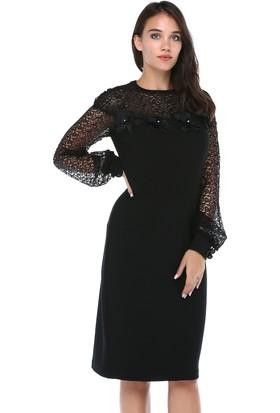 69983ab44df22 Dantelli Elbise Modelleri & 2018 Dantelli Uzun ve Kısa Elbiseler