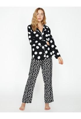 Koton Kadın Puantiye Detaylı Pijama Altı