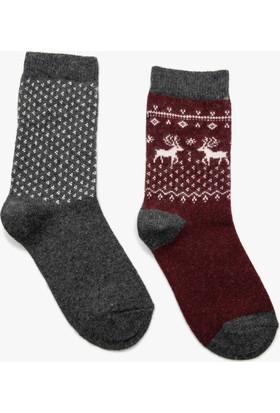 Koton Kadın Kadın 2'Li Çorap