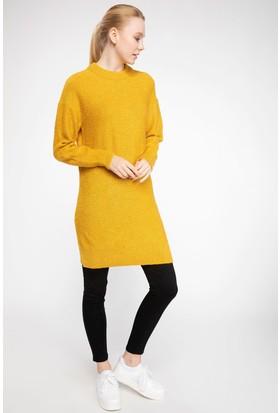 Defacto Kadın Basic Triko Tunik
