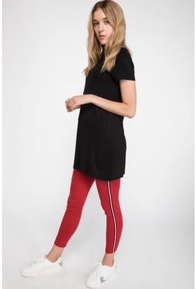 Defacto Kadın Şerit Detaylı Super Skinny Pantolon