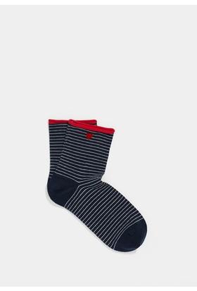 Mavi Kadın Lacivert Patik Çorap