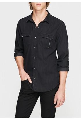 Mavi Erkek Rio Siyah Black Jean Gömlek