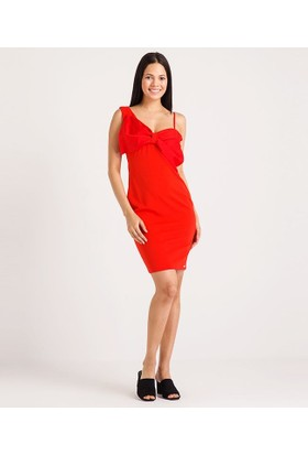 Home Store Elbise Kırmızı