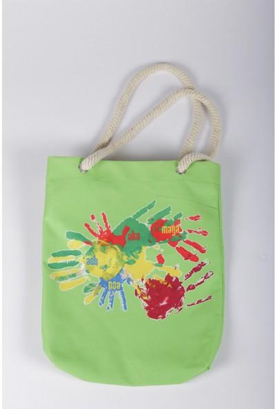Bizim Aile Kadın Çanta Eller Yeşil