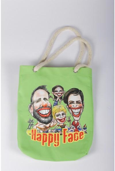 Bizim Aile Kadın Çanta Happy Face
