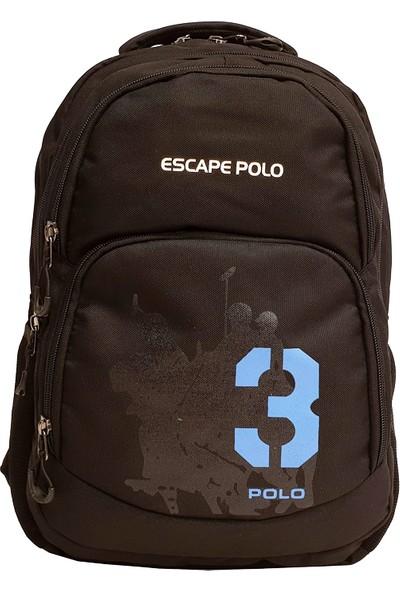 Escape Polo Sırt Çantası Siyah ESC140333SKM01