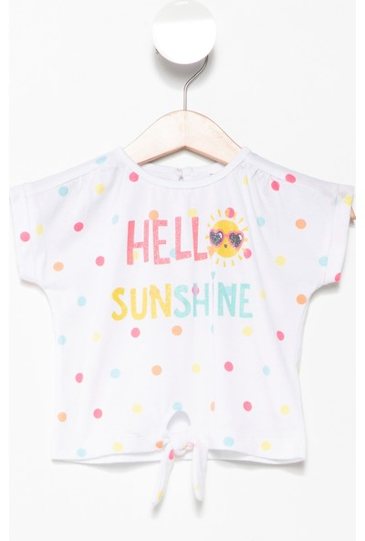 Defacto Kız Bebek Tshirt