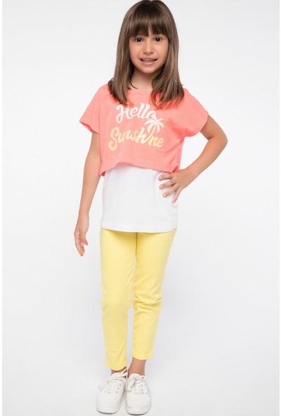 Defacto Kız Çocuk Pantolon