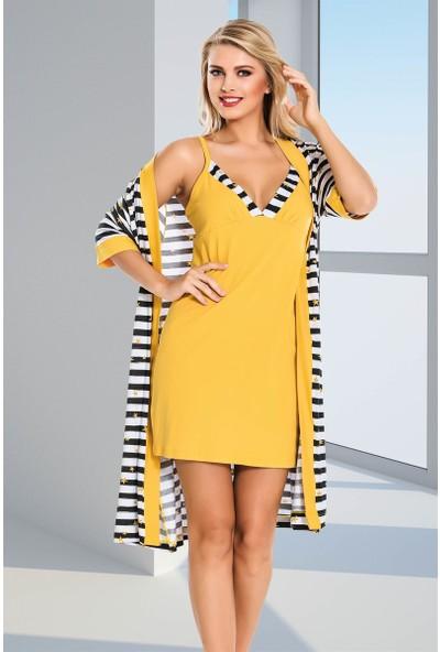 Lady 4'lü Pijama Takım 13845