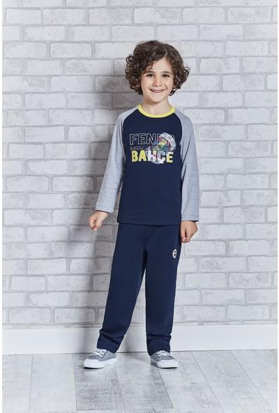 Fenerbahçe Lisanslı Erkek Çocuk Pijama Takımı