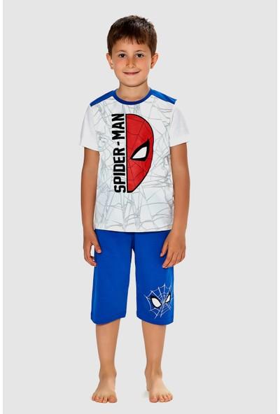 Spider Man Erkek Çocuk Pijama Takımı