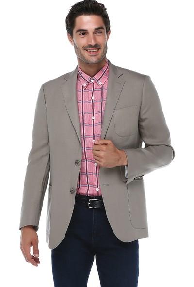 İmza Comfort Fit Düz Ceket
