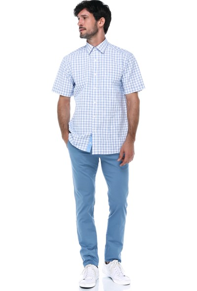 İmza Slim Fit Düz Klasik Pantolon