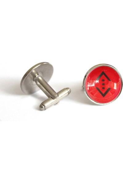 İlbay Çini Takı Kol Düğmesi Ds714