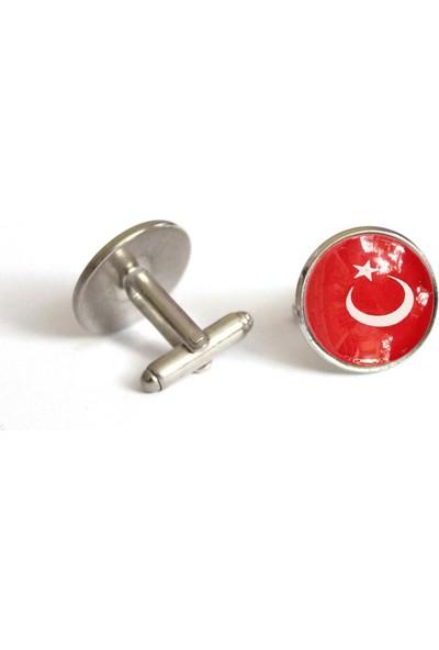 İlbay Çini Takı Kol Düğmesi Ds712