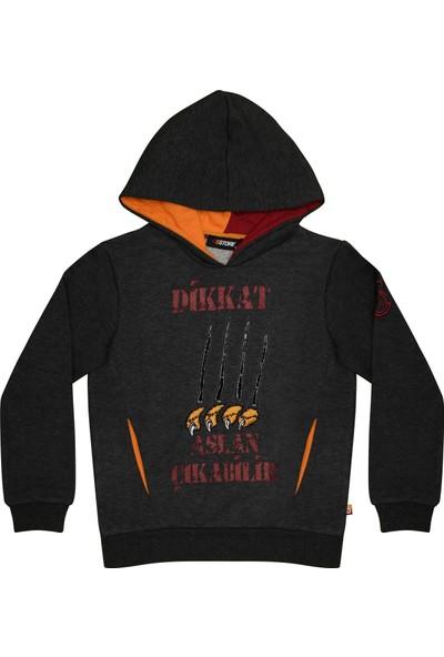 Galatasaray Lisanslı Mevsimlik Kapşonlu Çocuk Sweatshirt
