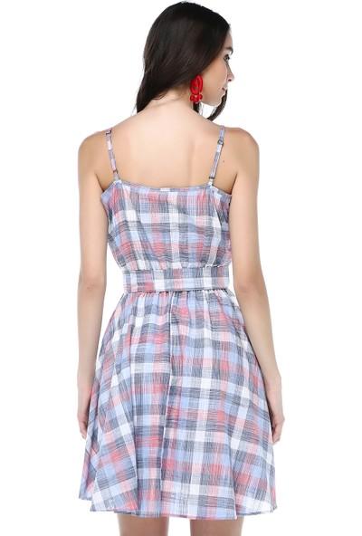 Cream&Rouge 18Y243 Elbise Kısa Askılı