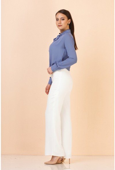 Accort S2-311 Kadın Manşet 7926 Pantolon Kemik