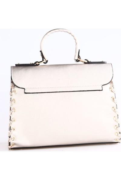 Gnc Bag 5401 Kadın Çanta Platin
