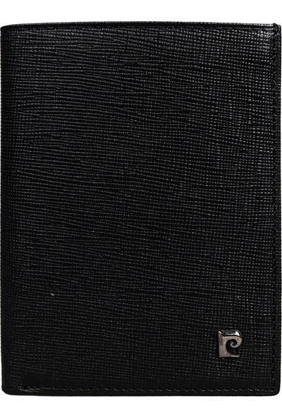 Pierre Cardin Deri Cüzdan 3Pccz2735 Siyah Wnt Yeşil