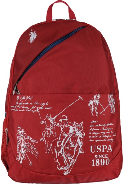 U.S. Polo Assn. Sırt Çantası Pl8180 Bordo