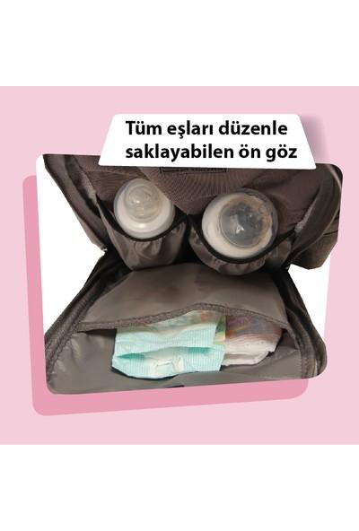Alone Çanta Bej Anne Bebek Bakım Sırt Çantası