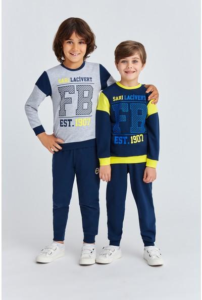 Fenerbahçe Lisanslı Erkek Çocuk Eşofman Takımı Lacivert