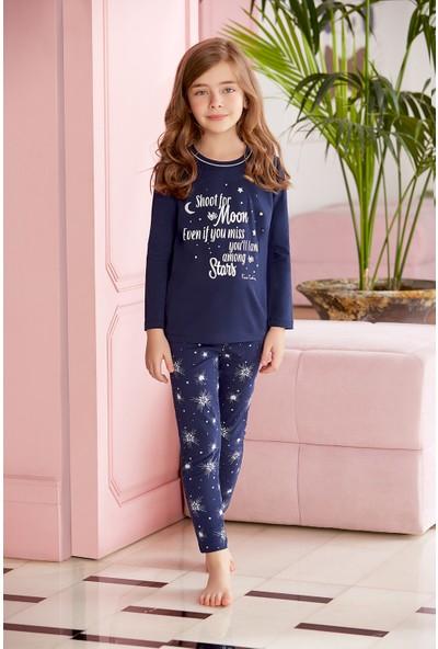 Pierre Cardin Genç Kız Pijama Takımı Lacivert