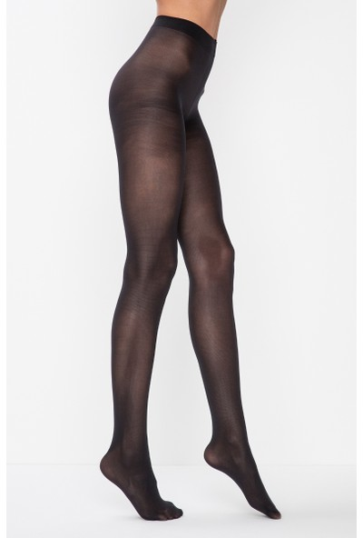 Penti Penti Siyah Mikro 40 Külotlu Çorap