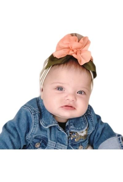 Babygiz Çiçek Aksesuarlı Bandana Nba037