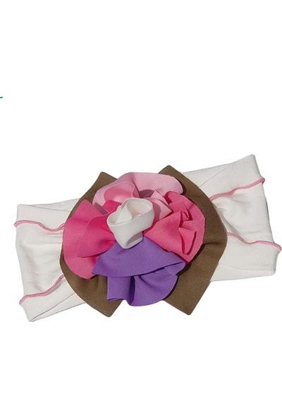 Babygiz Çiçek Aksesuarlı Bandana Nba031