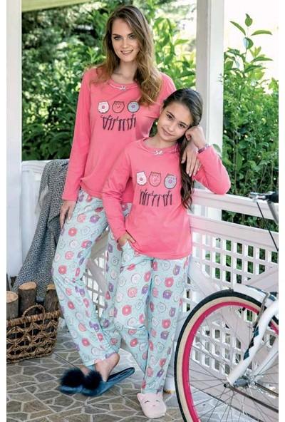 Yeni İnci CKP314 Uzun Kollu Kız Çocuk Pijama Takımı