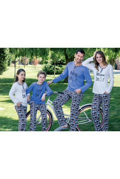 Yeni İnci EPJ662 Uzun Kollu Erkek Pijama Takımı