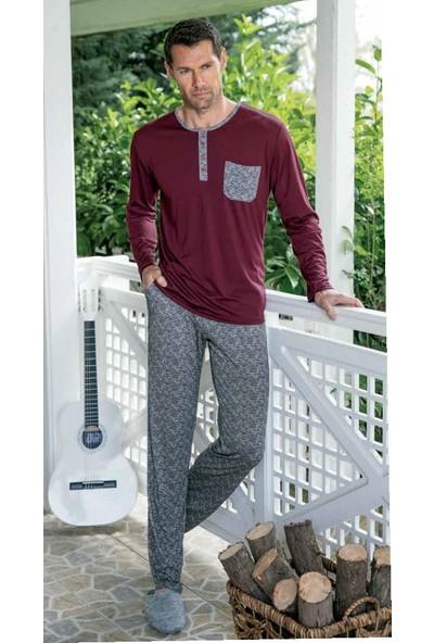 Yeni İnci EPJ668 Uzun Kollu Erkek Pijama Takımı