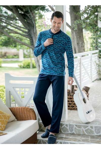 Yeni İnci EPJ678 Uzun Kollu Erkek Pijama Takımı