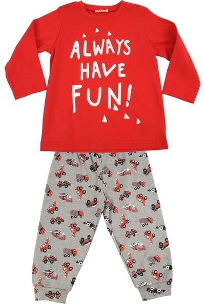 Zeyland Küçük Erkek Çocuk Pijama Takımı