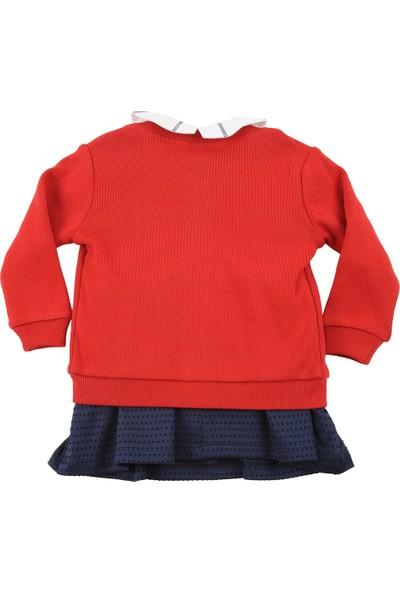 Zeyland Küçük Kız Çocuk Hırka + Elbise + Tshirt