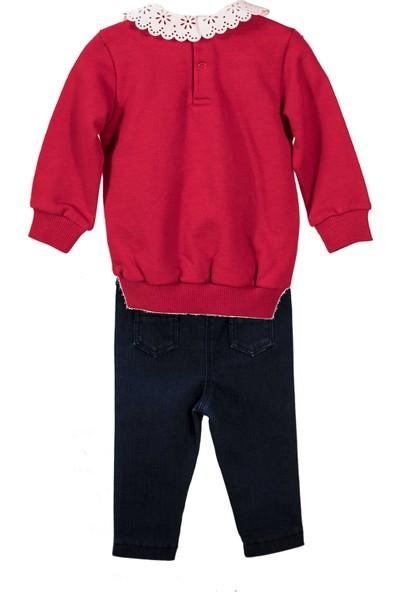 Zeyland Küçük Kız Çocuk Tshirt Pantolon Takım