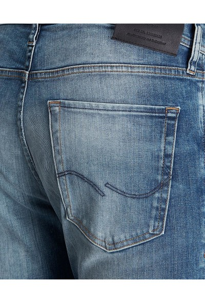 Jack & Jones Erkek Kot Pantolon 12136697 Jıglenn Jjorıgınal Jj 081