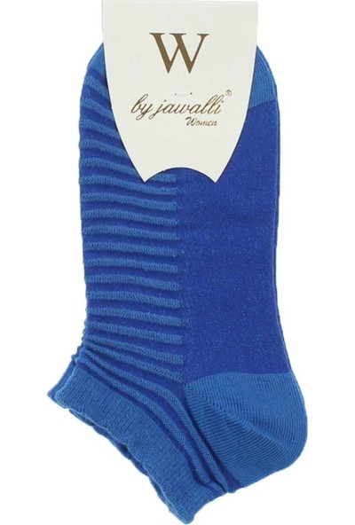 Modakids By Jawalli Kadın Mavi Parfümlü Patik Çorap 065-477-015