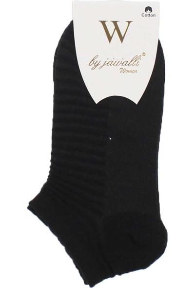 Modakids By Jawali Kadın Siyah Parfümlü Desenli Patik Çorap065-477-038