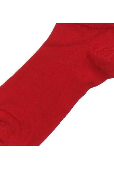 Modakids By Jawalli Kadın Kırmızı Parfümlü Patik Çorap 065-530-002