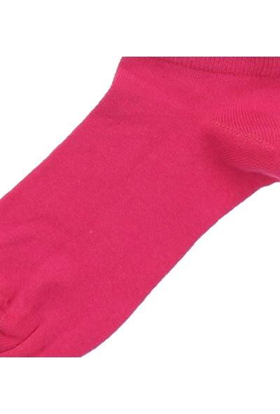 Modakids By Jawalli Kadın Fuşya Parfümlü Patik Çorap 065-530-022