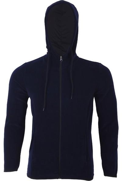 Ghassy Co. Erkek Kapüşonlu Polar Sweatshirt